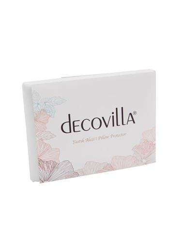Decovilla Yastık Alezi 10 Adet 50X70 Pamuklu Sıvı Geçirmez Beyaz